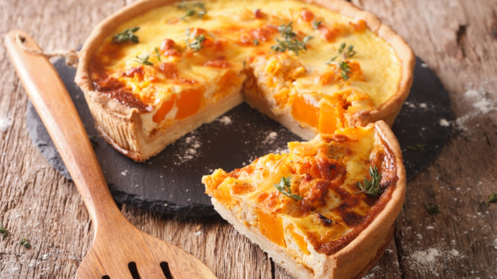 Photo of Receta de Quiche de bacon, cebolla caramelizada y queso
