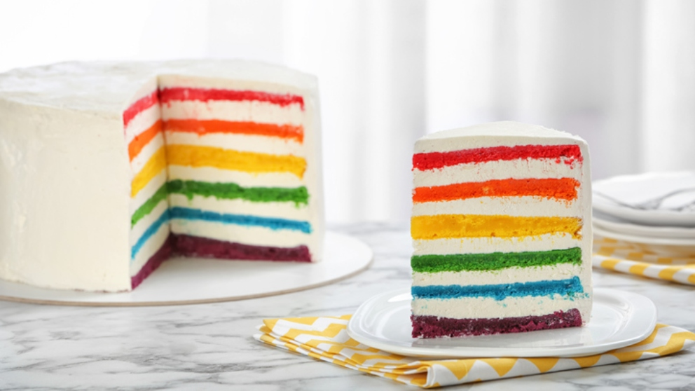 Photo of Receta de Tarta Arco Iris o Rainbow Cake