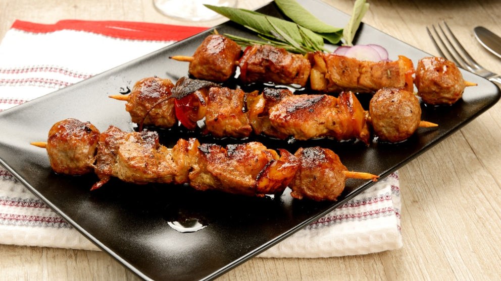 Photo of Receta de Brochetas de pollo especiales