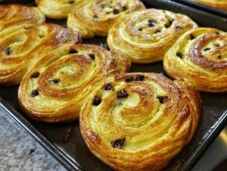 Receta de Caracolas de canela y nueces sin gluten 13