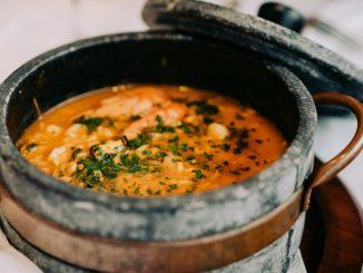 Receta de Sopa clara de merluza y arroz 7
