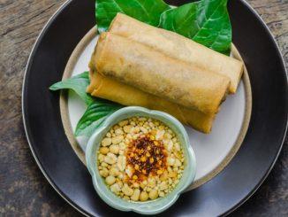Receta de Rollitos de cerdo con verduras y setas shiitake con salsa dulce de soja y miel 20