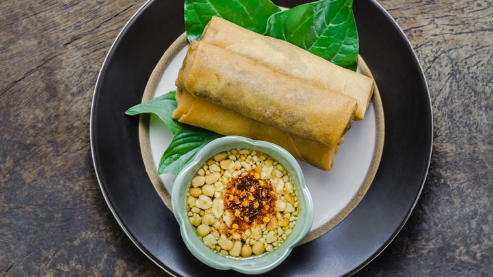 Photo of Receta de Rollitos de cerdo con verduras y setas shiitake con salsa dulce de soja y miel