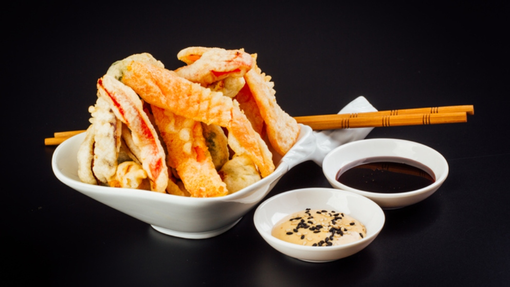 Photo of Receta de Tempura de pescado con salsa sweet chili