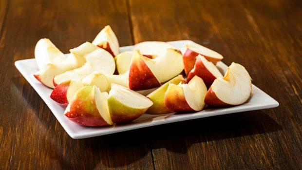Receta de chipirones con manzanas al brandy 3