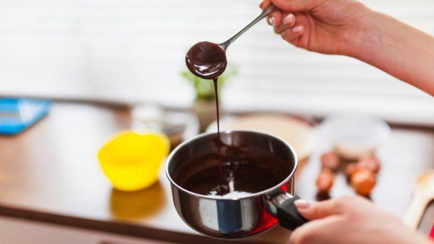 Receta de Pastel de chocolate en el microondas 2