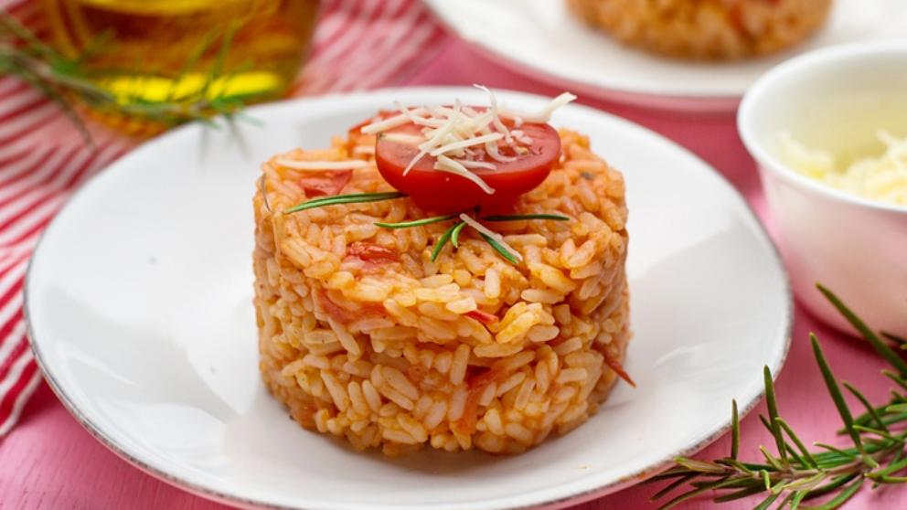 Photo of Receta de arroz con pisto