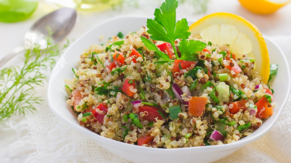Photo of Receta de Ensalada de quinoa