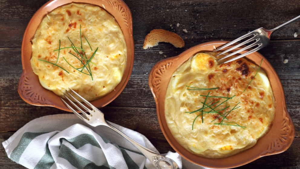 Photo of Receta de Huevos Mornay