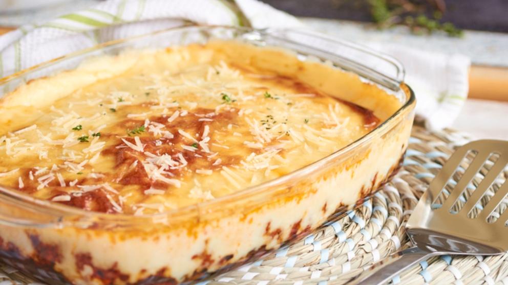 Photo of Receta de Patatas con tomate y bechamel