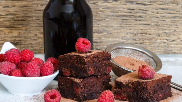 Photo of Receta de Brownies de chocolate Guinness