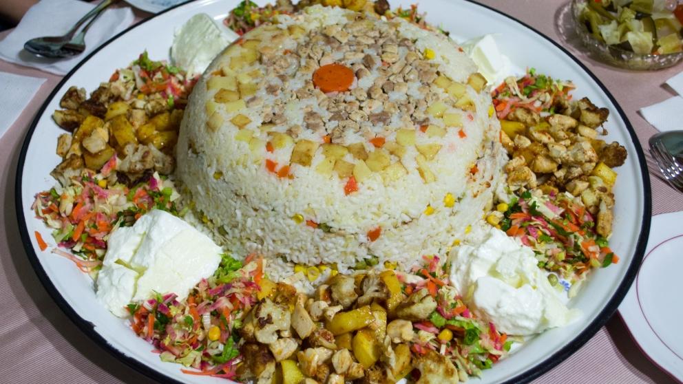 Photo of Receta de Maqluba de arroz y berenjena