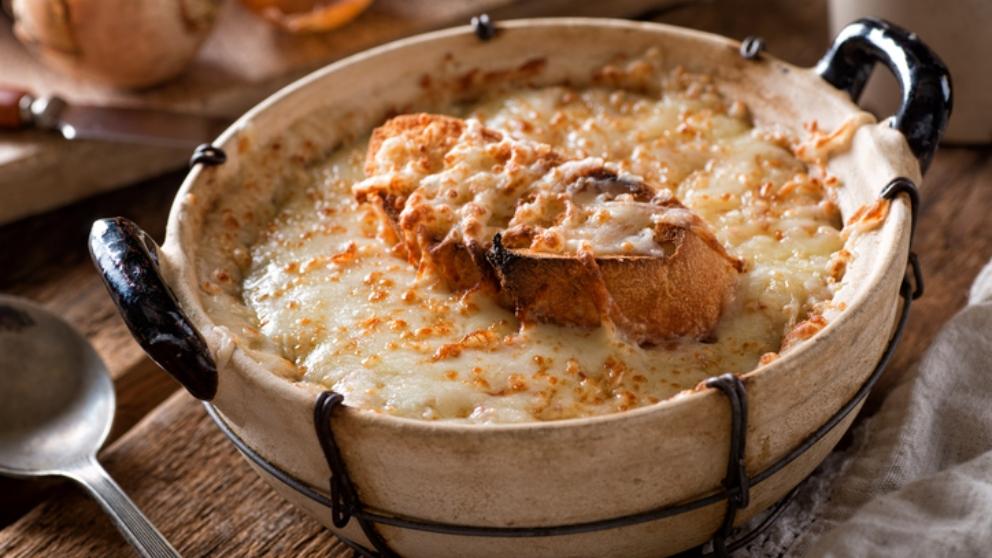 Receta de Sopa de cebolla casera 1