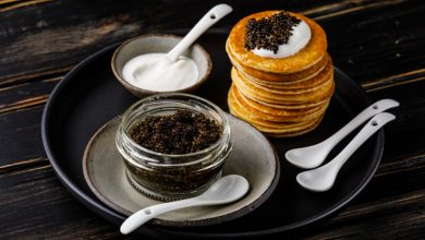 Photo of Receta de caviar con blinis