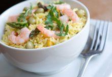 Photo of Receta de ensalada de arroz con gambas y verdura