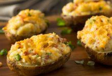 Photo of Receta de patatas rellenas con verduras