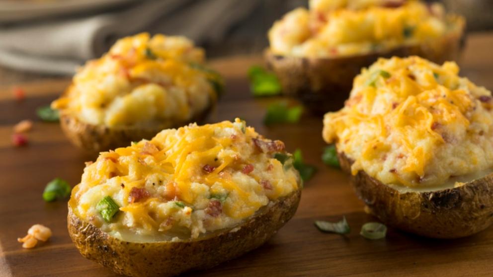 Receta de patatas rellenas con verduras 1