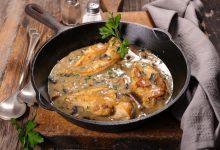 Photo of Receta de Pollo guisado con salsa de apio
