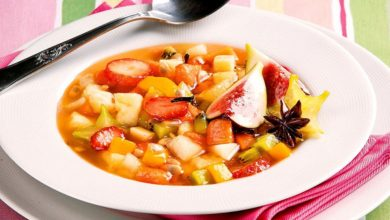 Photo of Receta de Sopa de macedonia de frutas de temporada