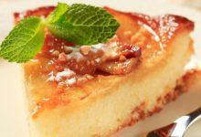 Photo of Receta de Tarta de manzana y flan