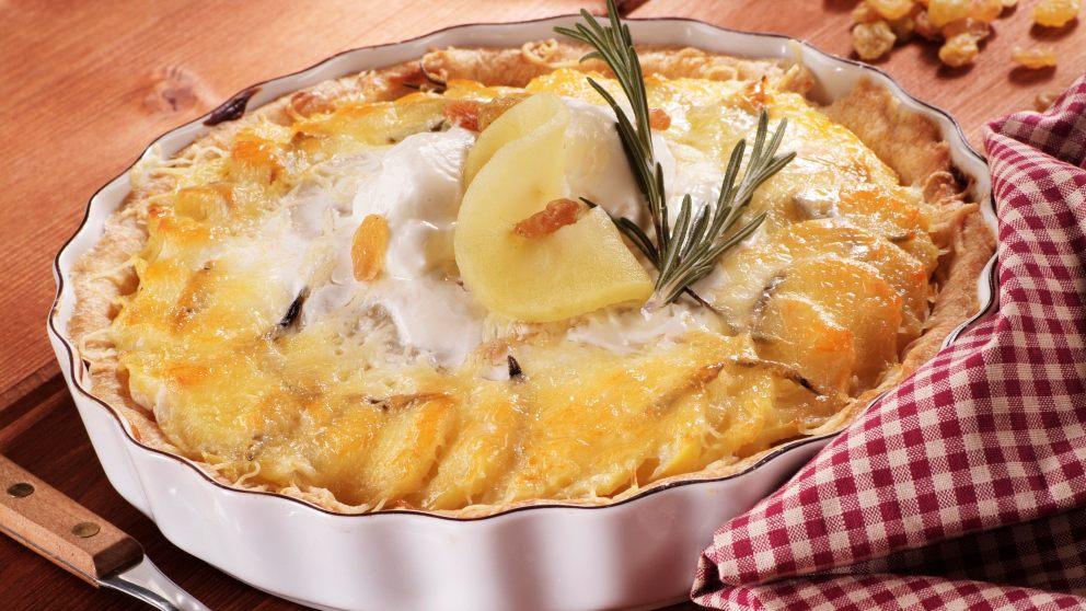 Receta de Tarta fría de piña y yogurt 1