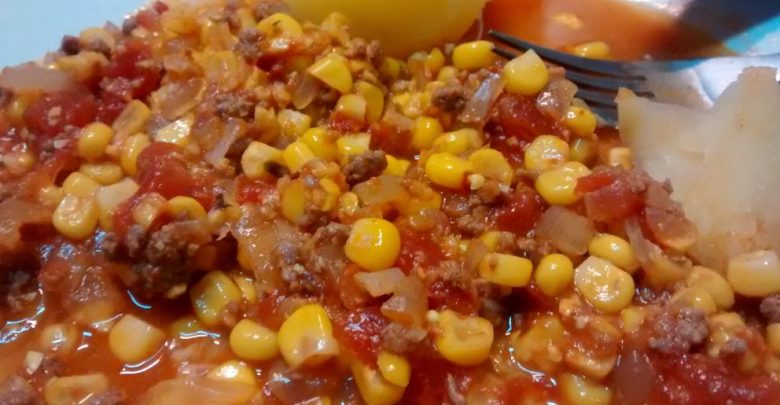 Receta de Tomaticán chileno 1