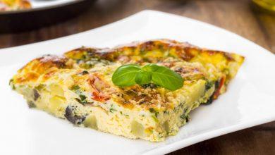 Photo of Receta de Tortilla de calabacín y cebolla