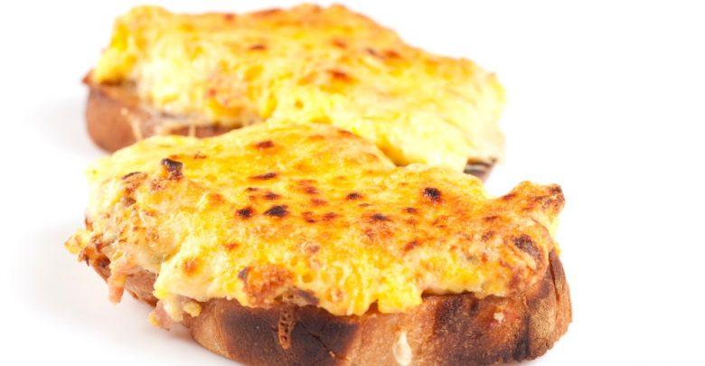 Receta de Tostada galesa de queso 1
