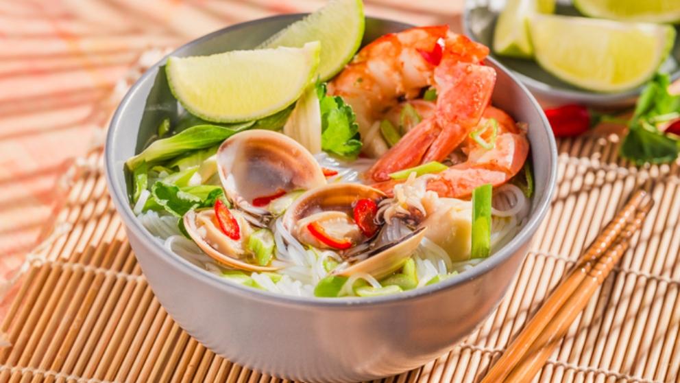 Receta de sopa de almejas y arroz 1