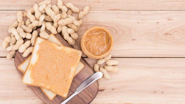 mantequilla de maní casera