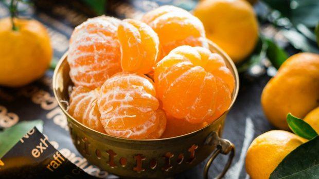 Receta de trucha con naranjas.