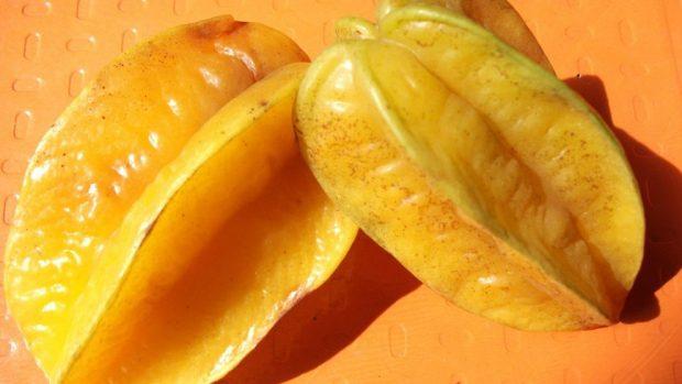 La fruta carambola
