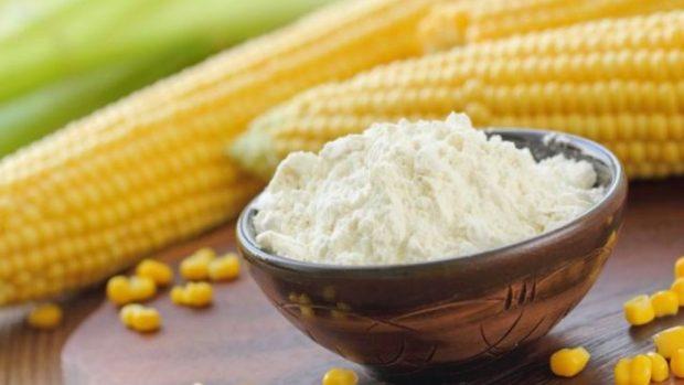 Receta combinada de maíz y vegetales