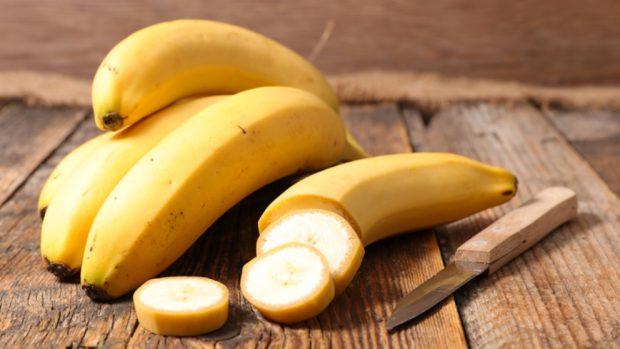 Receta de plátano vegano y helado de fresa