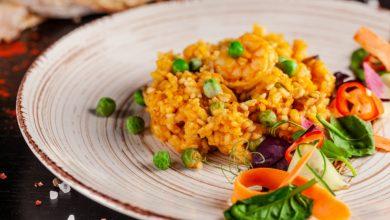 Photo of Receta de arroz con gambas y atún en escabeche