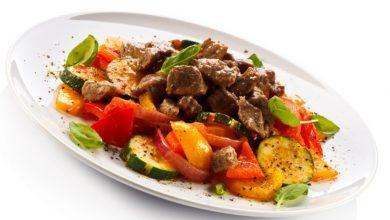Photo of Receta de asado de ternera con pimientos