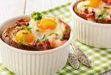 Photo of Receta de huevos con queso y jamón