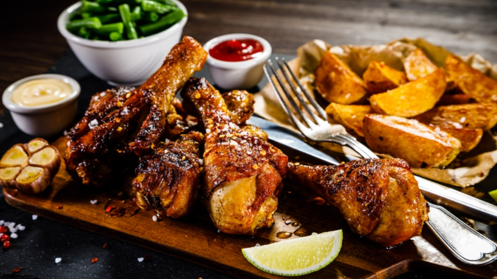 Receta de pollo asado al brandy 1