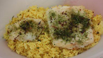 Photo of Receta de Arroz al horno con bacalao
