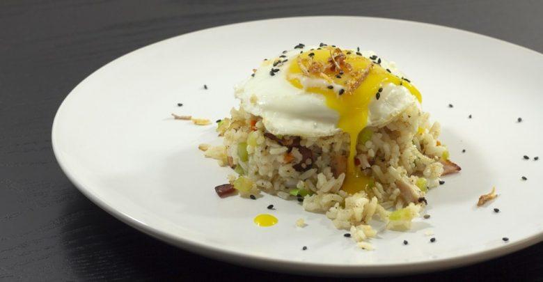 Receta de arroz yakimeshi 1