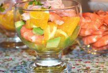 Photo of Receta de Ceviche de langostinos, merluza y naranja