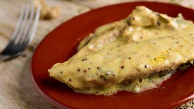 Photo of Receta de Lomos de dorada a la mostaza