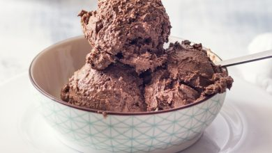 Photo of Receta de helado de chocolate sin huevo