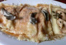 Photo of Receta de Pasta rellena con salsa de salmón y yogur