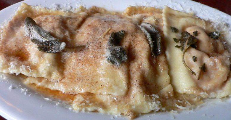 Receta de Pasta rellena con salsa de salmón y yogur 1