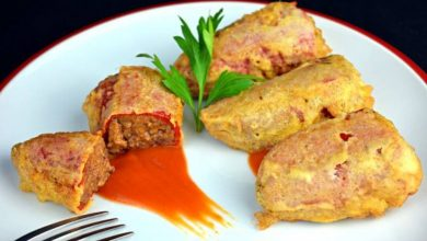 Photo of Receta de pimientos rellenos de guiso de rabo de toro