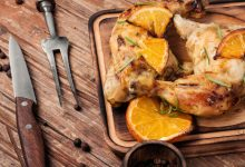 Photo of Receta de Pollo marinado con naranja