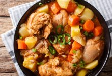 Photo of Receta de Pollo sudado con patatas