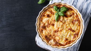 Photo of Receta de quiche cuatro quesos