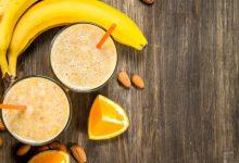 Photo of Receta de Smoothie tropical con frutos secos